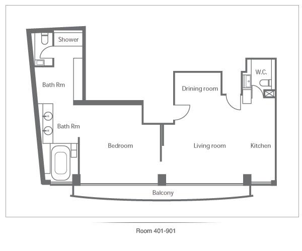 Stanley Oriental Hotel Room 401